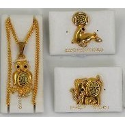 Damascene Animals Collection