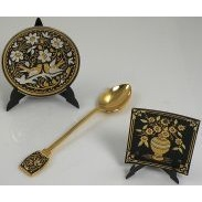 Damascene Collector Spoons & Plates Collection